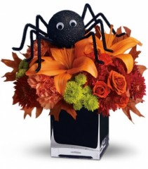 Spooky Sweet Flower Arrangement