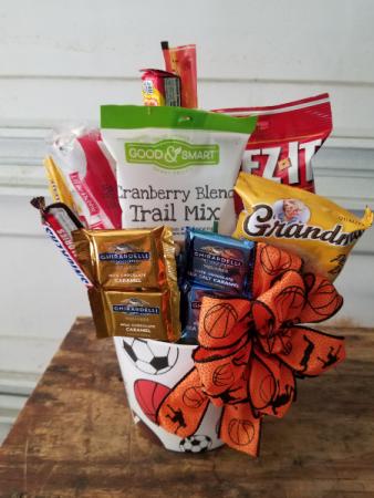 Sports Fan Snack Pack Gift Basket