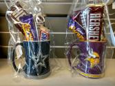 Sports Mug Candy Bouquet