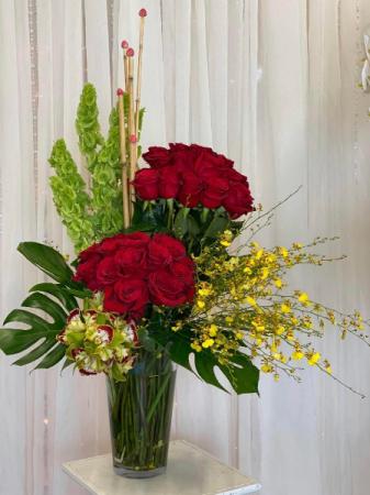 Sprawlingly Gorgeous  Vase