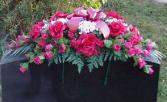 SPRAY FOR GRAVES artificial silks for cemetery