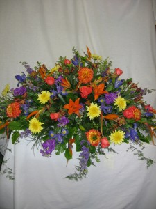 Loving Casket Arrangement