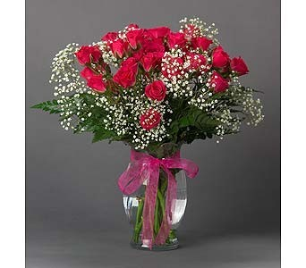 Spray Rose Vase