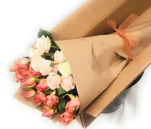 Spray Rose Wrap Wrap in Newport News, VA | Pick Me Up Love LLC.