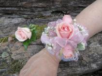 Spray Rose Wrist Corsage Fresh Wrist Corsage