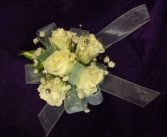 spray roses with jewels wrist corsage