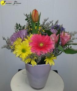 Spring - Pot of Bright & Cheery
