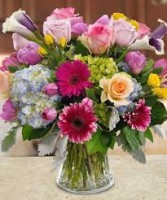 Stunning Jewel Tone Vase
