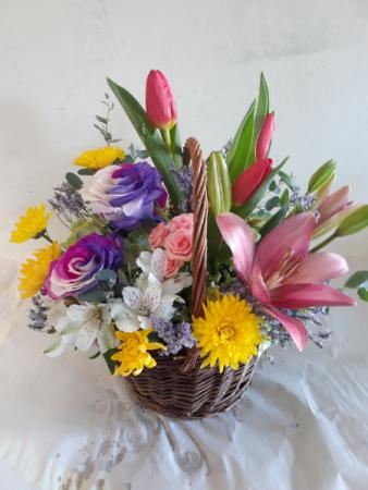Spring anytime Basket