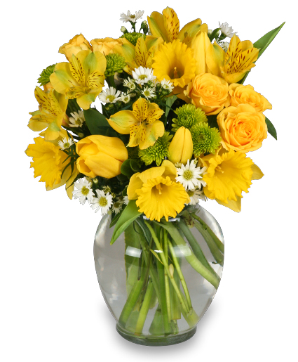 Spring comes alive seasonal bouquet in bonita springs fl a flower spring comes alive seasonal bouquet mightylinksfo