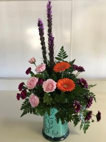 Spring Beauty Fresh Vased
