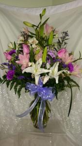 Spring Beauty Vase Arrangement