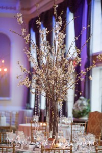 Spring Bloom Chic Table Centerpieces