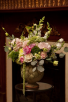 Spring Blossoms Artichoke Vase