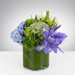 Spring Blues   in Oakville, ON | ANN'S FLOWER BOUTIQUE-Wedding & Event Florist