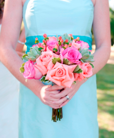 Spring Blush Hand Held Bouquet