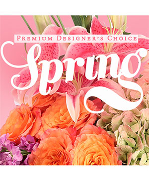 Spring Bouquet Premium Designer's Choice in Richmond, MO | Linda's Floral