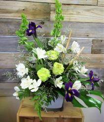 Spring Breeze Cube Vase