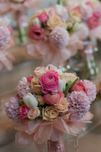 Spring Bridal Bouquet Mixed spring flfowers