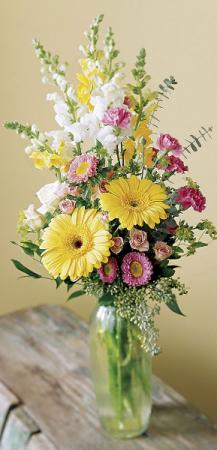 spring bud vase