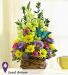 Spring Butterfly Basket Spring
