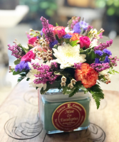 Spring  Candle Bouquet