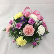 Spring Carnation Centerpiece
