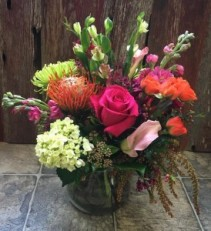 Spring Cheer vase arrangement