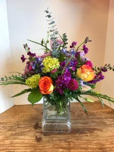 Spring Colors Arrangment  in Roswell, GA | THE BEST LITTLE FLOWER SHOP