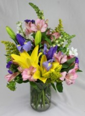 Spring Cylinder Fresh Arrangement