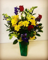 Spring Dance Mixed Bright Colors in Plainview, Texas | Kan Del's Floral, Candles & Gifts