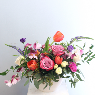 Spring Delight - Vibrant Seasonal Arrangement