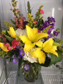 Spring Delight Fresh Arrangement