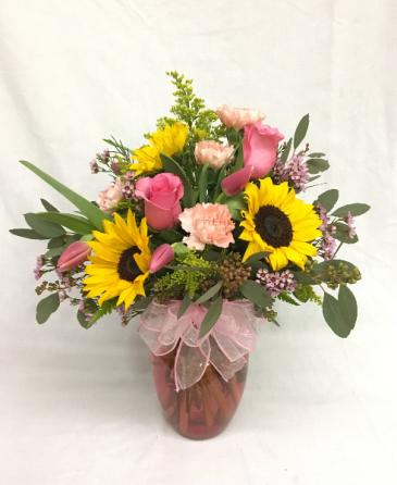 Spring Delight Vase