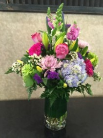 Spring Delight Vase Arrangement