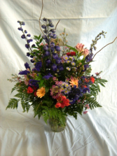 Tall and Bright Vase Design