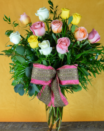 Spring Dozen Roses Roses