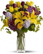 Spring Equinox vase arrangement