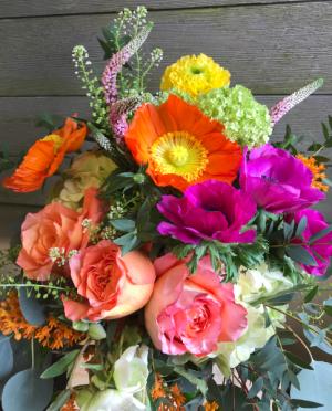Summer Explosion vase in Northport, NY | Hengstenberg's Florist