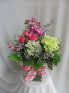 Spring Fever Fresh Vased Arrangement