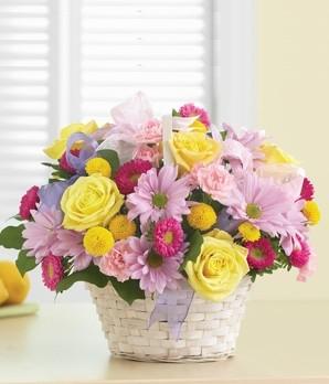 Spring Fling Basket Spring