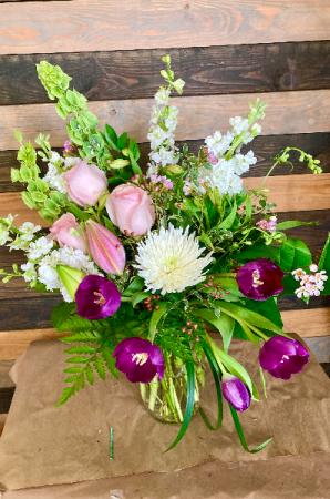 Spring Fling fresh flower bouquet