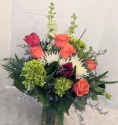 Spring Fling Fresh Vase Arrangement