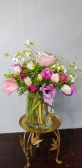 Spring Fling Springtime Vase Arrangement
