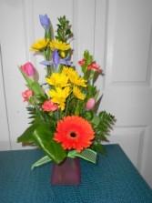 Spring Fling Vase Arrangment