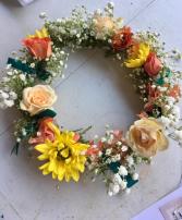 Spring Floral Halo