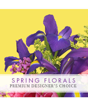 Spring Flowers Premium Designer's Choice in Newport, ME | Blooming Barn Florist Gifts & Home Decor