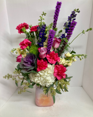 Spring Forward Bouquet  in Liberal, KS   THE FLOWER BASKET