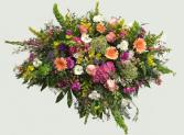 Spring Garden 1806 Casket Blanket