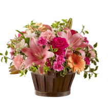 Spring Garden Basket 18-s4s